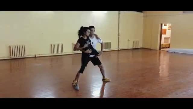 Баястан - Жарашат, постановка танца (за кадром)